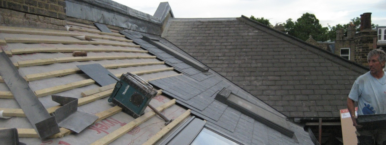 SDFR uses experts in slating, flat roofing and leadwork